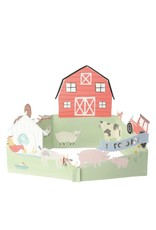 Meri Meri On the Farm First Birthday - 3D Scene Card