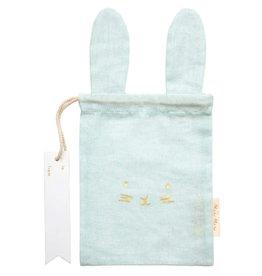 Meri Meri Pastel Bunny Gift Bag - Mint