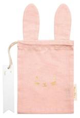Meri Meri Pastel Bunny Gift Bag - Pink