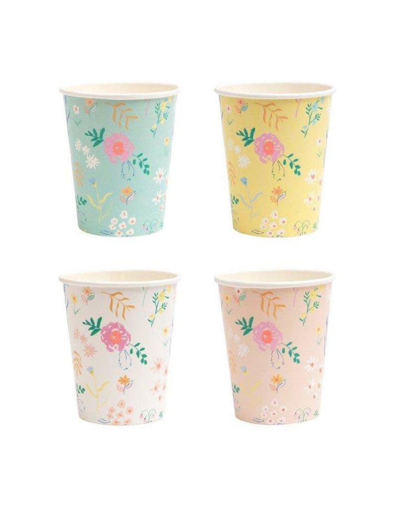 Meri Meri Floral Assorted Party Cups
