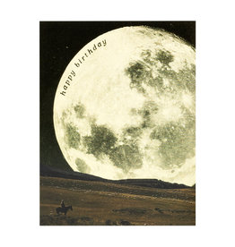 Birthday Cowboy Moon Card
