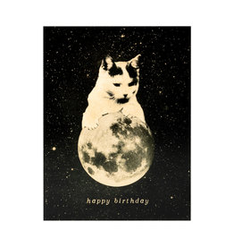 Birthday Mooncat 2 Card