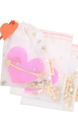Meri Meri Heart Shaker Medium Gift Bags - Set of 3