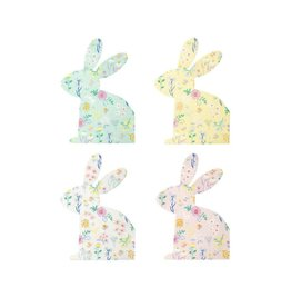 Meri Meri Wildflower Bunny Assorted Napkins