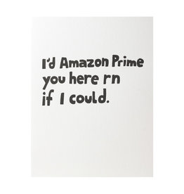 Ashkahn Amazon Prime You Letterpress Card