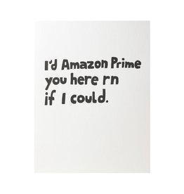 Ashkahn Amazon Prime You Letterpress Card