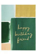 Happy Birthday Friend Card