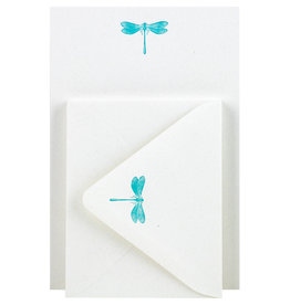 Folio Press & Paperie Dragonfly Stationery Set