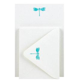 Folio Press & Paperie Dragonfly Stationery Set