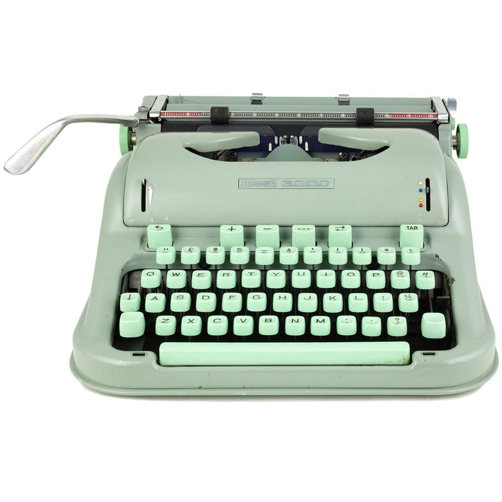 Hermès 3000 Cursive Typewriter
