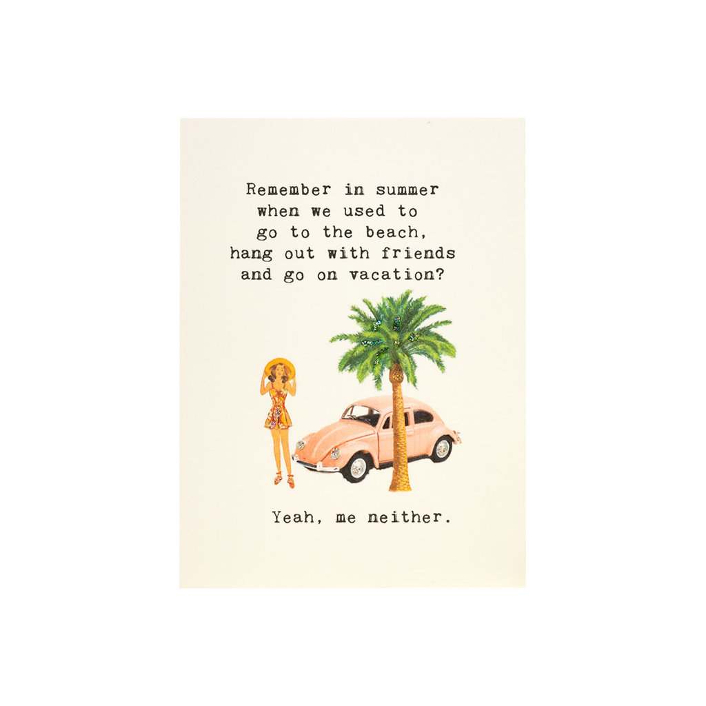 Paper Love Boutique Remember Summer Covid Card