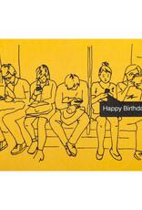 La Familia Green Birthday Texts Card