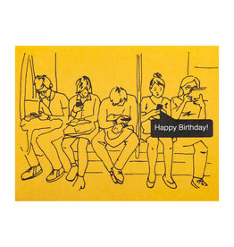 La Familia Green Birthday Texts Card