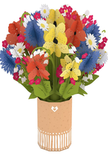 Lovepop Wildflower Bouquet - Pop-Up Centerpiece