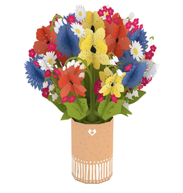 Lovepop Wildflower Bouquet - Pop-Up Centerpiece