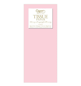 Caspari Baby Pink Tissue Package - 8 Sheets