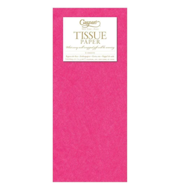 Caspari Fuchsia Tissue Package - 8 Sheets