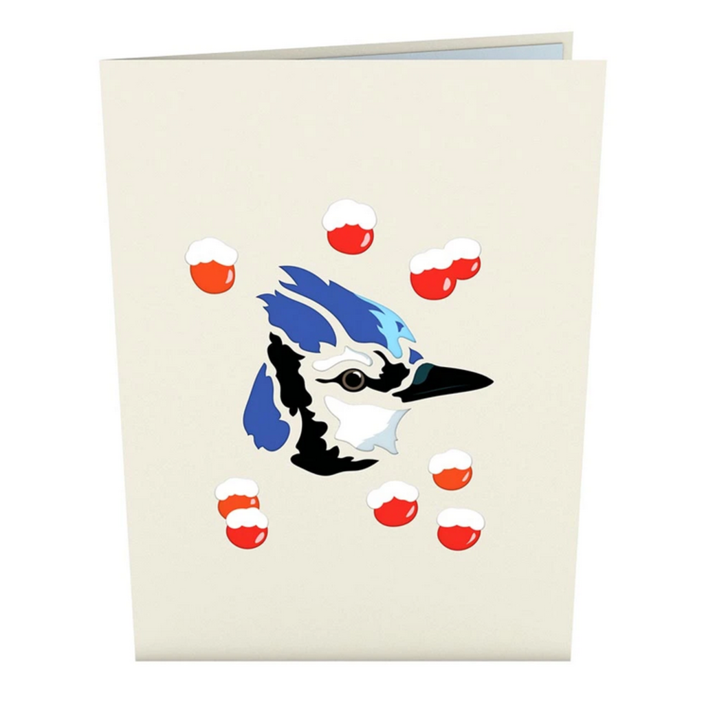 Lovepop Blue Jay - Pop-Up Card