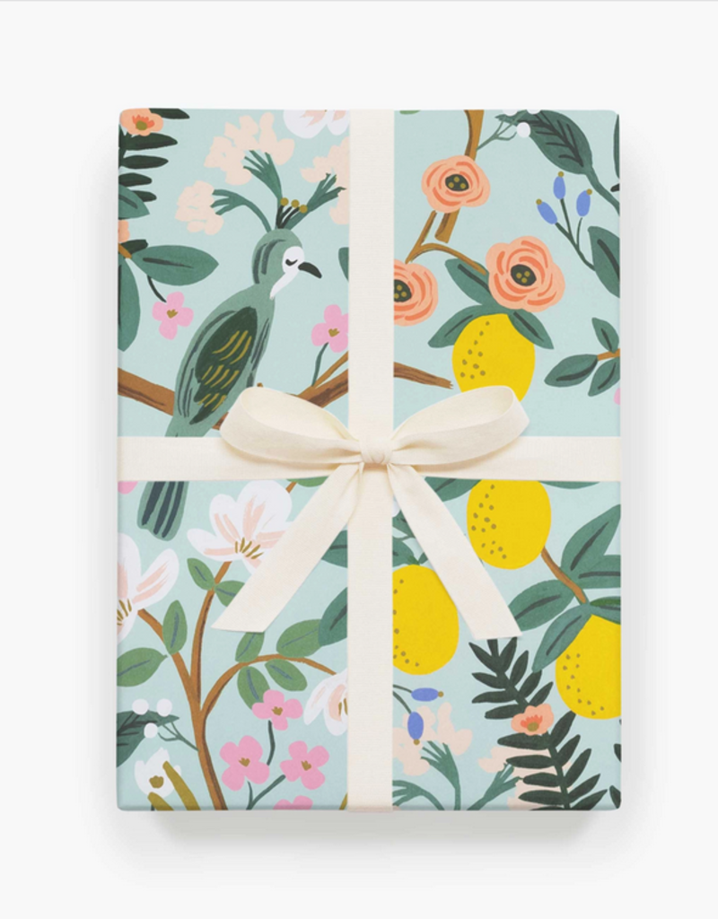 Rifle Paper Shanghai Garden - Roll of 3 Wrapping Sheets