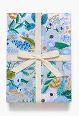 Rifle Paper Garden Party Silver - Continuous Wrap Roll