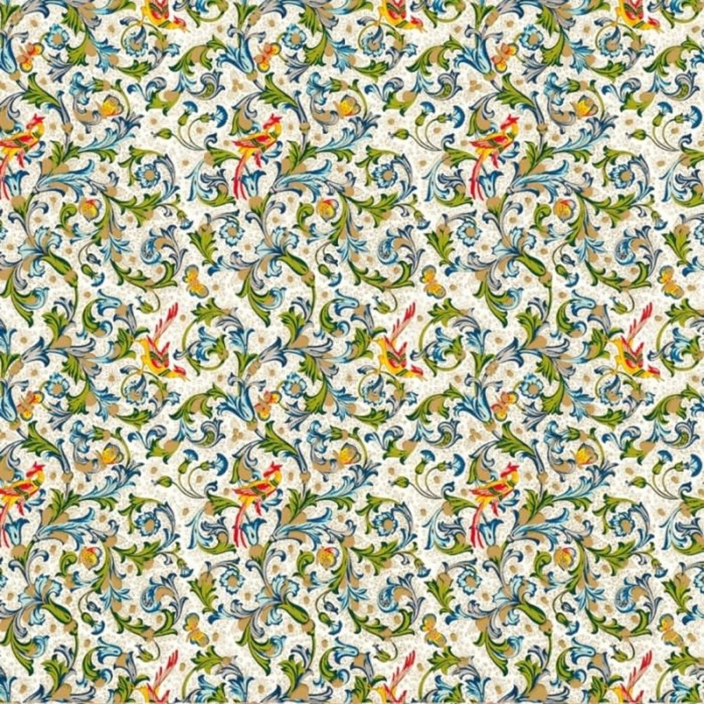 Rossi Birds Florentine Wrap - 2 Sheets