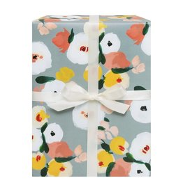Dusk Floral Gift Wrap Roll