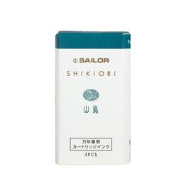 Sailor Shikiori Four Seasons Ink Cartridges - Yamadori