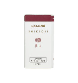 Sailor Shikiori Four Seasons Ink Cartridges - Okuyama