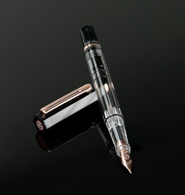 TWSBI TWSBI Eco Smoke Rose Gold Fountain Pen