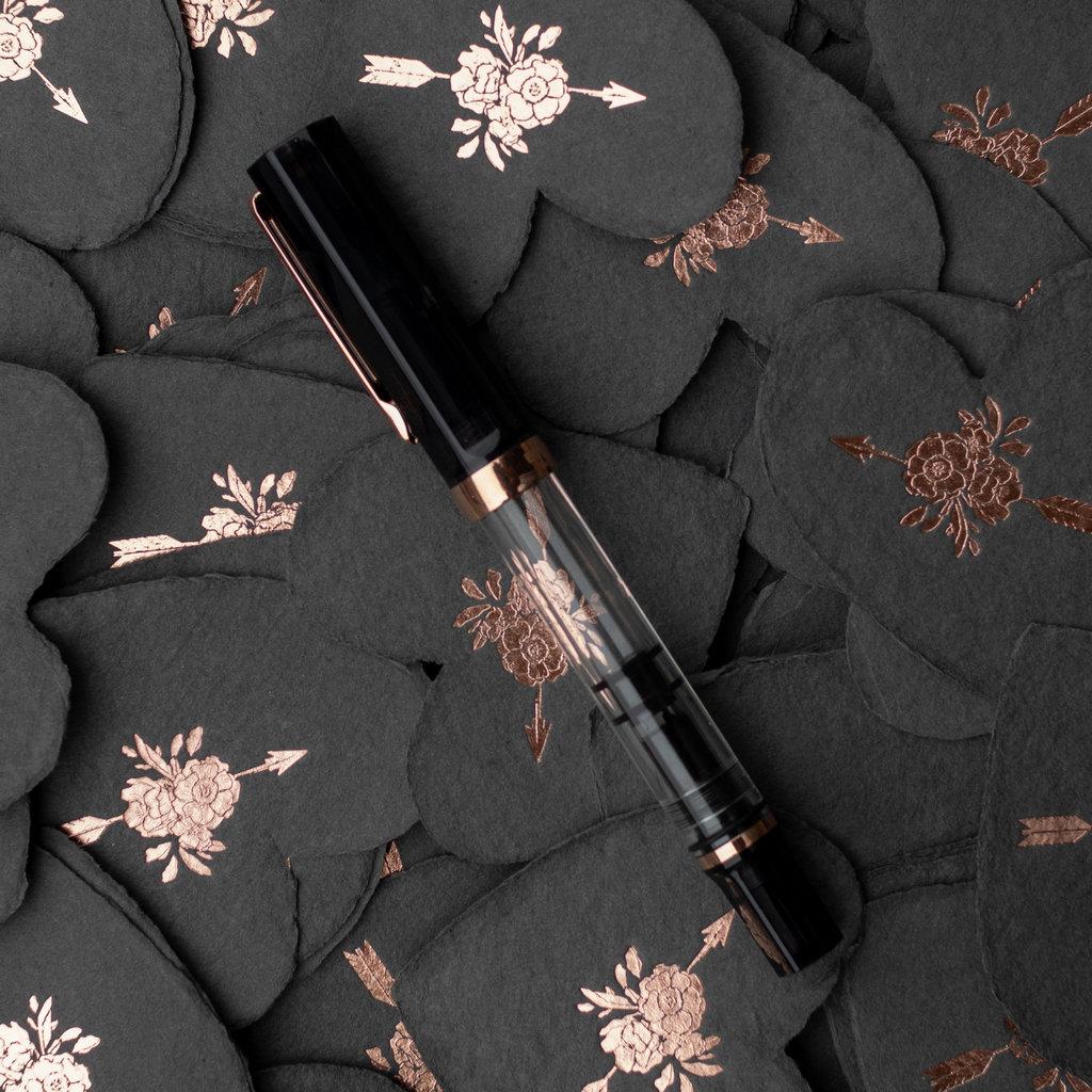 TWSBI TWSBI Eco Smoke Rose Gold Fountain Pen