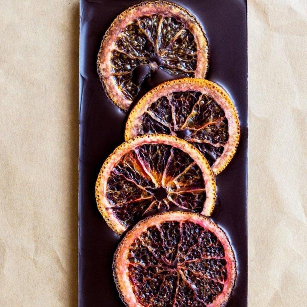 Blood Orange Chocolate Bar