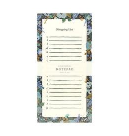 Rifle Paper Garden Party Blue Market Pad