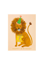 Rifle Paper Lion Birthday Card