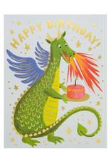 Rifle Paper Birthday Dragon Card