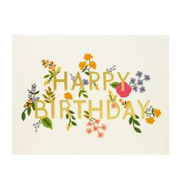 Rifle Paper Wildwood Birthday Card