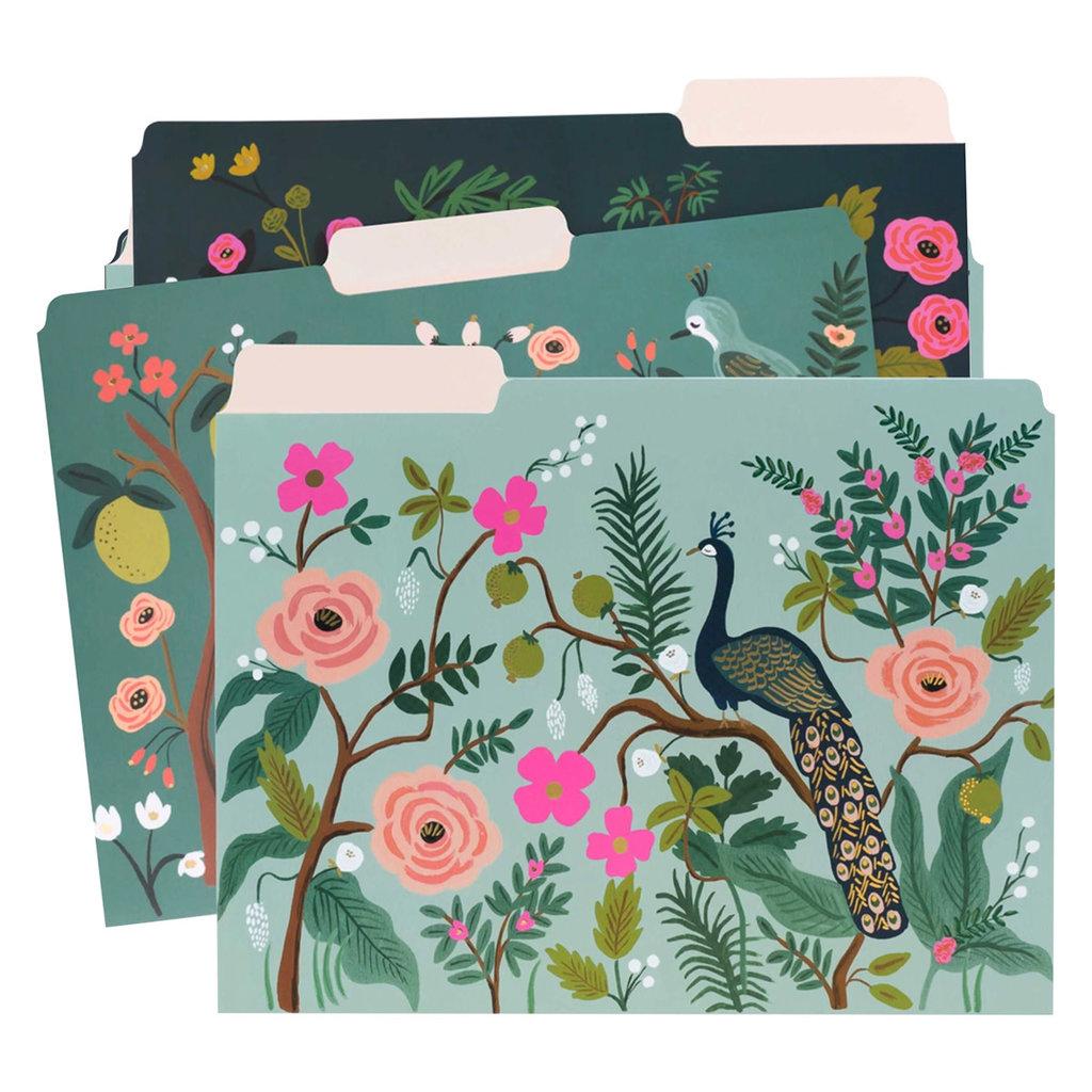 Rifle Paper Shanghai Garden File Folder Set