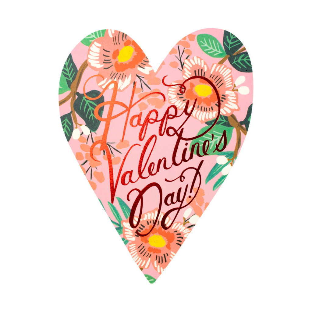 Rifle Paper Heart Blossom Valentine Greeting Card