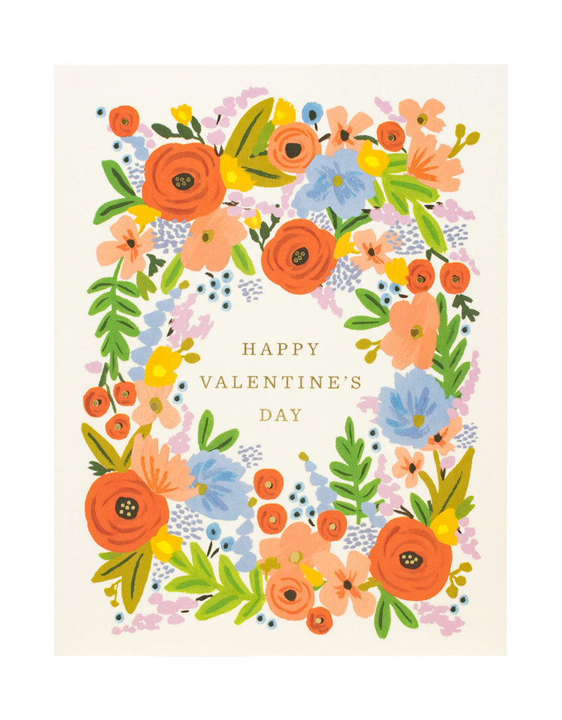 Rifle Paper Valentine's Bouquet Greeting Card