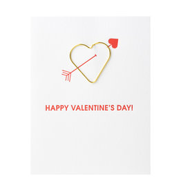 Chez Gagne Valentine's Heart Card