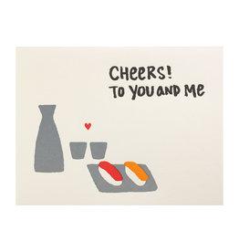 Fugu Fugu Press Cheers to You and Me Sushi