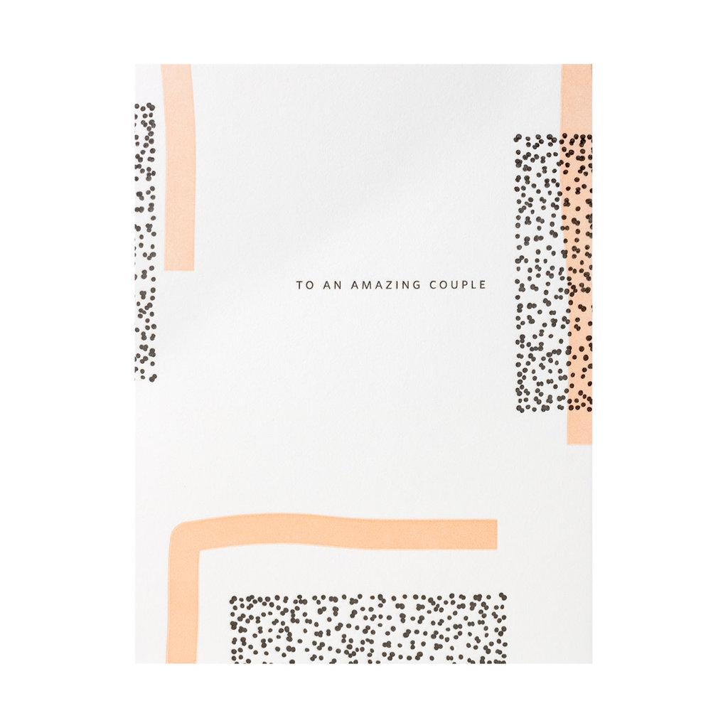 Ramona & Ruth To An Amazing Couple Letterpress Card