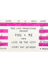 A Favorite Design Love Rock Ticket