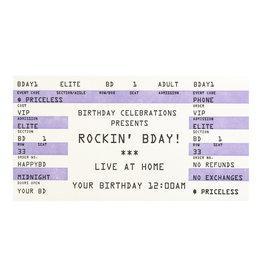 A Favorite Design Birthday Rock
