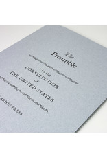 Arion Arion Press Limited Edition Preamble Letterpress Print