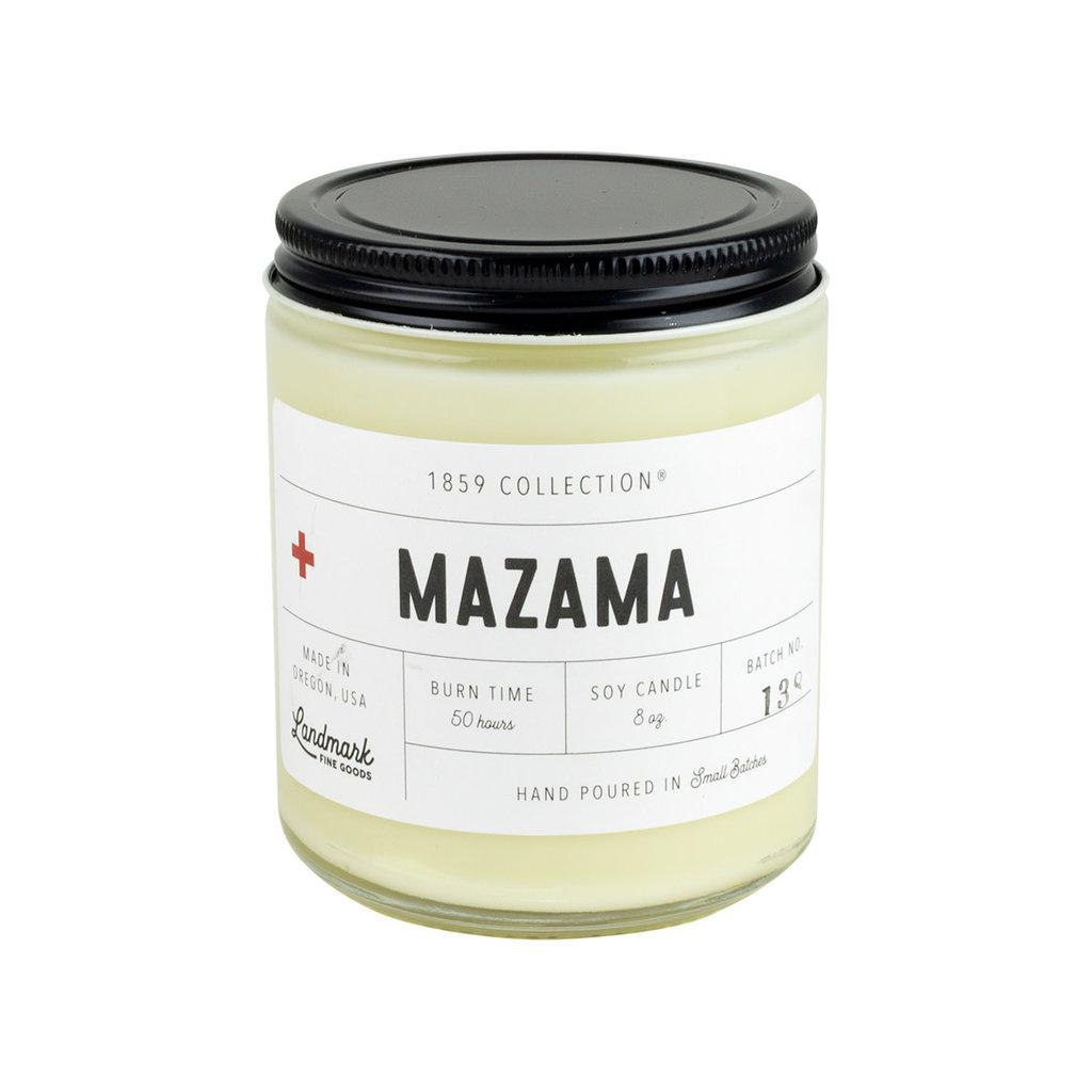 Landmark Mazama Candle  8oz
