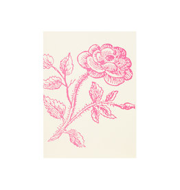 Saturn Press Thorn Rose Grace Letterpress Notes Set of 6
