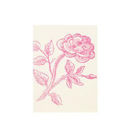 Saturn Press Thorn Rose Grace Letterpress Notes Set of 6