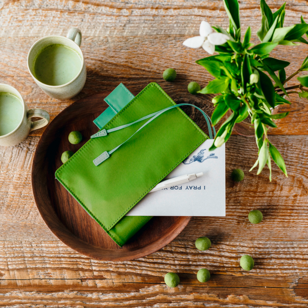 Hobonichi A6 Colors: Matcha Hobonichi Techo 2021 (January Start)