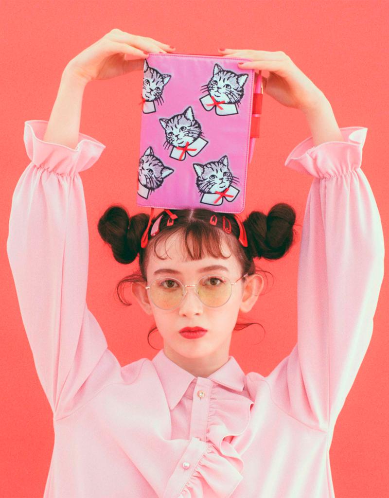 Hobonichi A5 Candy Stripper: Spruced-up Cat  Hobonichi Techo 2021 (April Start)