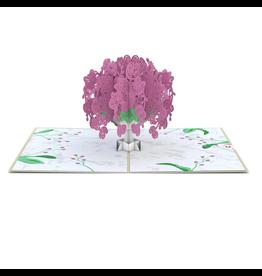 Lovepop Orchid Bouquet Pop-Up Card